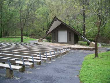 Amphitheater at Gulpha Gorge Campground