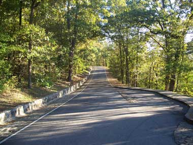 Hot Springs Mountain Drive, Hot Springs National Park, Arkansas